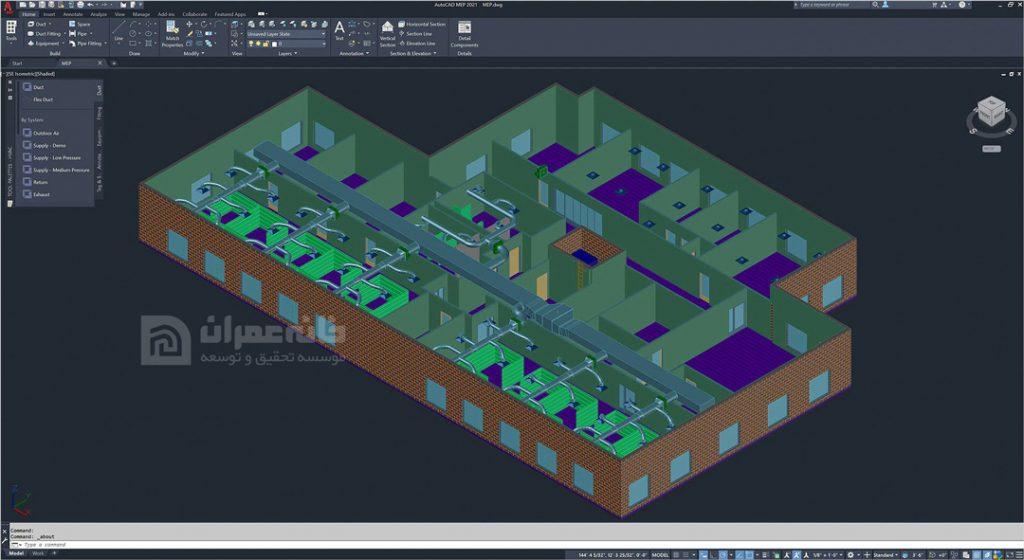 building information modeling mep
