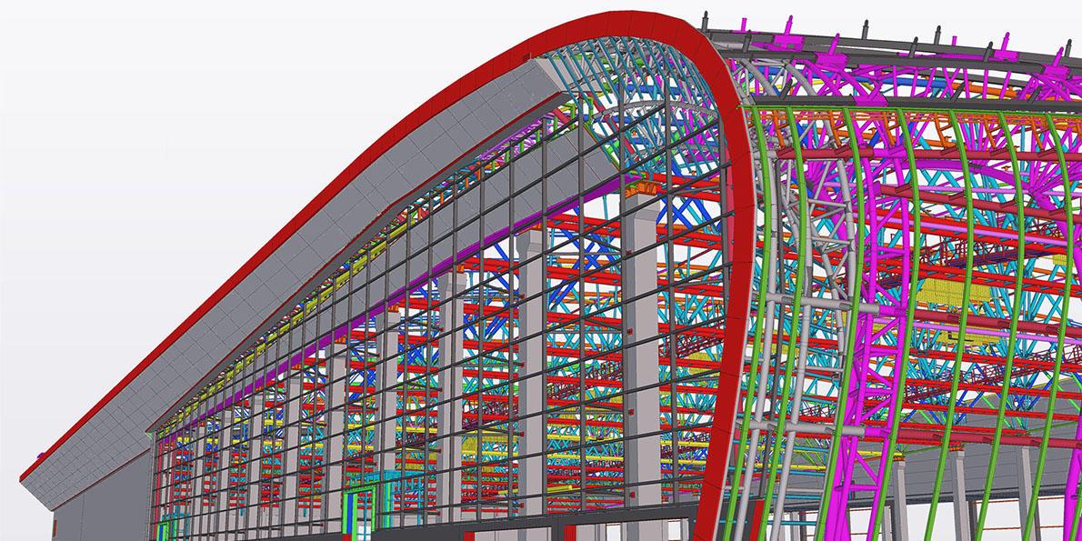 Shop Drawing Tekla Structures